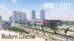 Modern Cinema (full interior) Minecraft Map & Project