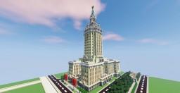 Leningradskaya Hotel - Moscow Minecraft Map & Project