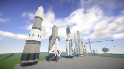 Objects Collection - Space Rockets Minecraft