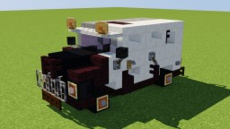 Two-Face's Armored Truck Minecraft Map & Project