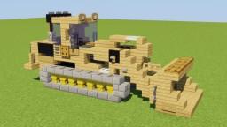 Caterpillar Crawler Loader Minecraft Map & Project