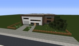 Custom House V1 Minecraft Map & Project