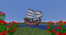 Pirate Junk Ship Minecraft Map & Project