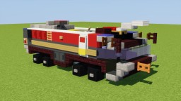 Rosenbauer Airport Fire Truck Minecraft