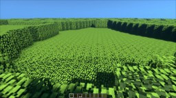 Tree leaves maze Minecraft