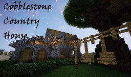 COBBLESTONE COUNTRY HOUSE +Yard and Treehouse! Minecraft Map & Project