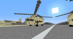 Chinook CH-47 Minecraft Map & Project