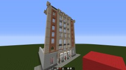 This is a New York Style converted Office Building [WIP] Minecraft Map & Project