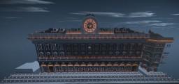 PALACE OF FHILOSOFHY- PALAZZO DELLA FILOSOFIA neoclassic building Minecraft