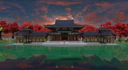 Japanese Byodo-in Hoo-do Reproduction Minecraft Map & Project