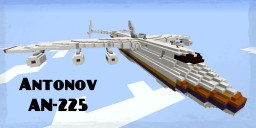Antonov AN-225 | Transport Plane Minecraft Map & Project