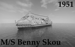 M/S Benny Skou Minecraft Map & Project