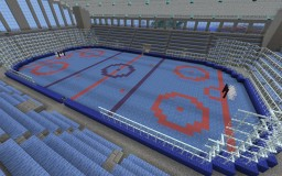 Ice Hockey Arena Minecraft Map & Project