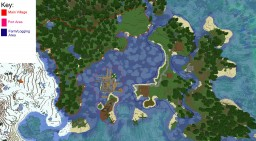 WIP Cove Village Minecraft Map & Project