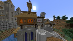 Observation Tower and Laboratories Minecraft Map & Project