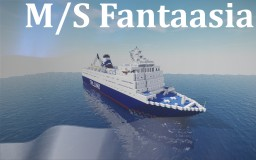 M/S Fantaasia Minecraft Map & Project