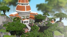 Minecraft spawn/lobby Fantasy/Greek style [100% FREE DOWNLOAD][HIGH QUALITY] Minecraft Map & Project