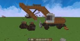Liebherr ( 900C Lite Duty ) Wheeled Excavator Minecraft
