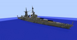 USS Java CA-37 (Java Class Cruiser) Minecraft Map & Project