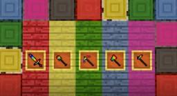 Rainbow Tools Minecraft Texture Pack