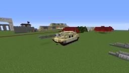 Custom built Desert camo tank (ACT-34) Minecraft Map & Project