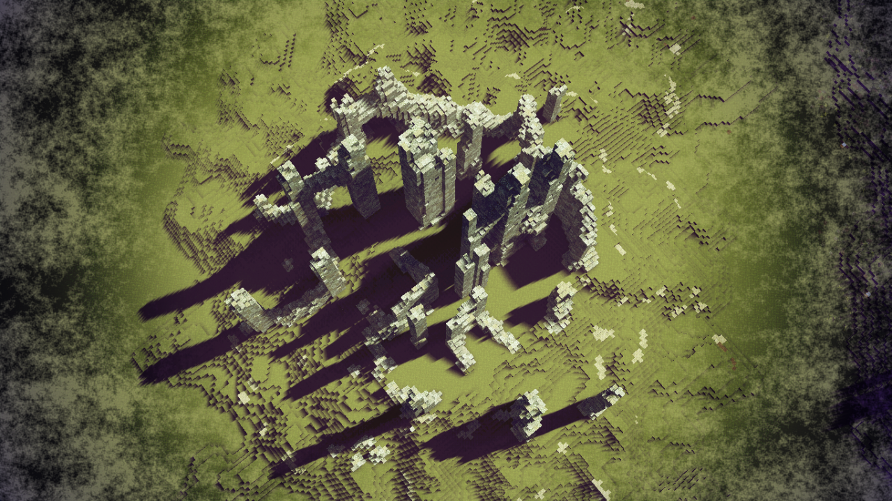 Ruined fortress Minecraft Project