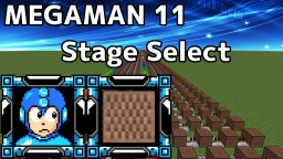 Mega Man 11 - Stage Select /Minecraft noteblock cover & tutorial Minecraft Map & Project