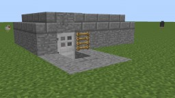 MG Bunker Type 1 Minecraft Map & Project
