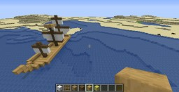 Simple Boat Minecraft Map & Project