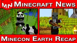 Minecraft News | Minecon Earth 2018 Recap (Minecraft 1.14 Village and Pillage Update) Minecraft Blog Post