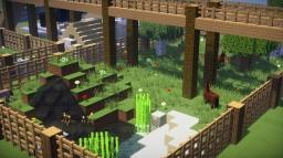 Zoo Minecraft avec Gare et Système d'alarme Incendie - PS3 Minecraft Map & Project