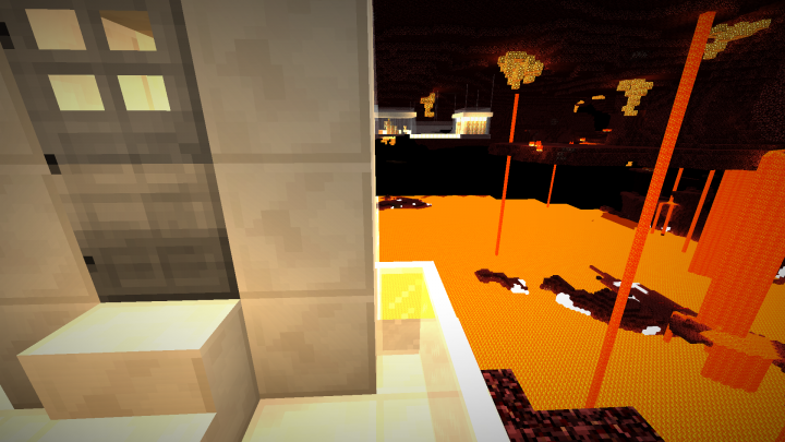 It appears the nether glass lab looks a bit different following the recent updates...