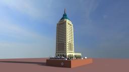 Nippy's Art Deco Skyscraper Exterior Minecraft Map & Project