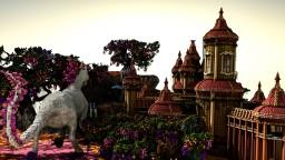 Secret Fantasty Garden Minecraft Map & Project