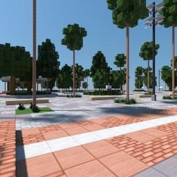 Santiago City Square Minecraft Map & Project