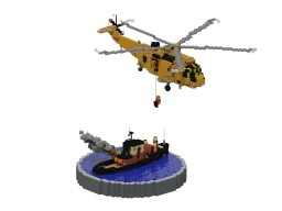 Sea Rescue Diorama Minecraft Map & Project