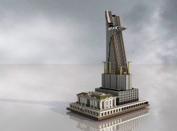 Reven Tower | Fictional Stark Tower | Version 1.12+ | Minecraft Map & Project