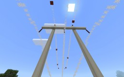 1:1 scale 500 Kv transmission line Minecraft Map & Project