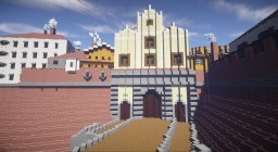 Medieval City Gate Minecraft Map & Project