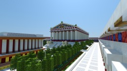 Temple of Artemis at Ephesus Minecraft Map & Project