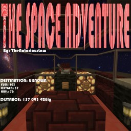 The Space Adventure! a Singleplayer Spacetravel Experience! Minecraft