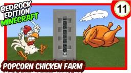 Mega Popcorn Chicken Farm Bedrock Edition Minecraft Map & Project