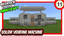 Dual Golem Vending Machine Minecraft Map & Project