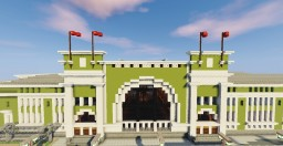 Train Station - Novosibirsk Minecraft
