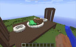 Turkey Dinner Table Minecraft Map & Project