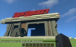 Fallout 4 red rocket Schematic Minecraft Map & Project