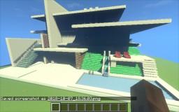 The Modern mansion schematic Minecraft Map & Project