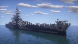 Alaska-Class Large Cruiser | 1:1 Scale Minecraft Map & Project