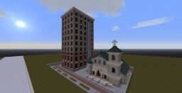 Pensacola Building Recreations Minecraft Map & Project