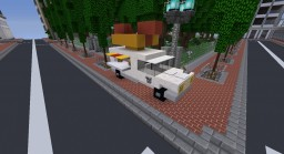 Hotdog Truck Minecraft Map & Project